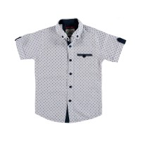 Рубашка с коротким рукавом, для мальчиков |1266115