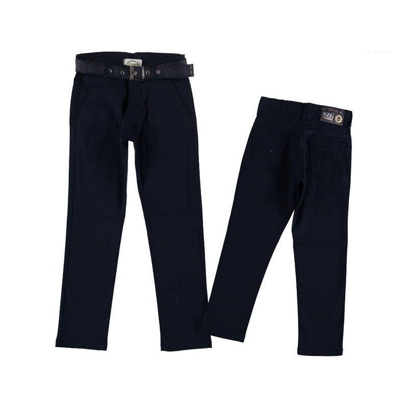 Детские брюки, цвет-синий|1244101