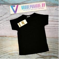 Детская футболка, цвет-черный, маломерит|1263069