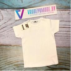 Детская футболка, цвет-белый, маломерит|1263070