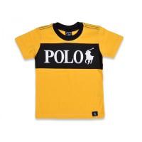 Футболка для мальчиков, цвет-желтый|1397