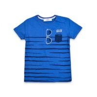 Футболка для мальчиков, цвет-синий|7320