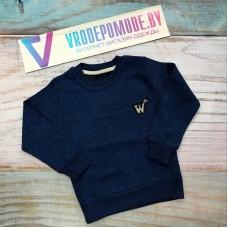 Утепленная детская кофта для мальчиков, цвет-синий|361903