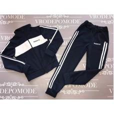 Спортивный костюм для мальчиков, цвет темно-синий|12684