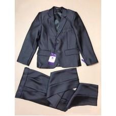 Классический костюм, цвет-серый|15672