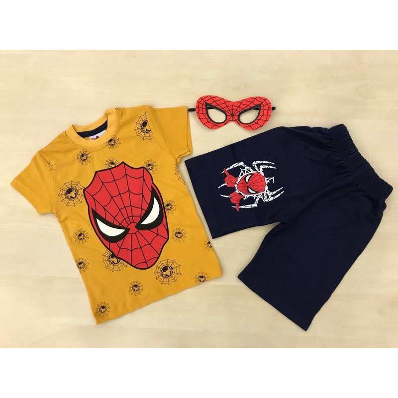 Костюм  для мальчиков от 2 до 8 лет, цвет - желтый |43011