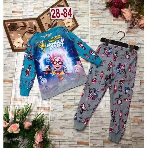 Пижама для мальчиков|Х01165-2