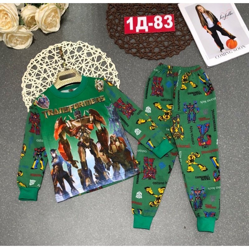 Пижама тёплая|Х09290-2