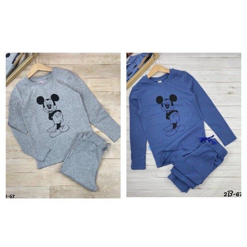 Пижамы для мальчиков с длинным рукавом|Х10061