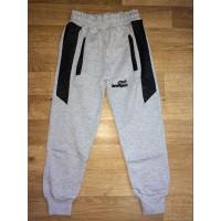 Спортивные штаны для мальчиков, цвет-серый |15809