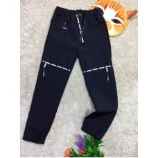Спортивные штаны для мальчиков, цвет темно-синий|16399