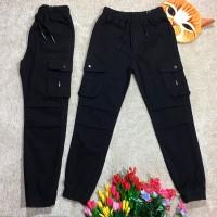 Штаны для мальчиков, цвет-черный | 17399