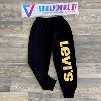 Спортивные штаны для девочек,цвет-черный|18321