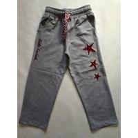 Спортивные штаны для мальчиков от 5 до 8 лет, цвет - серый |20014