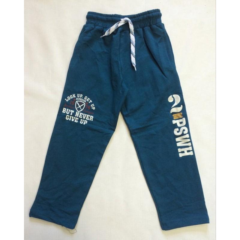 Синие спортивные штаны для мальчиков от 5 до 8 лет |2004