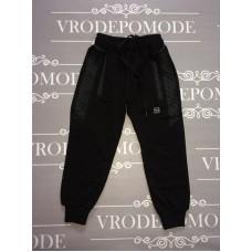 Спортивные штаны для мальчиков, цвет-черный, маломерят |20135