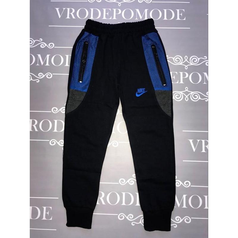 Спортивные штаны для мальчиков, цвет-черный |71031