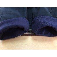 Штаны на флисе для мальчиков, цвет-синий |71844