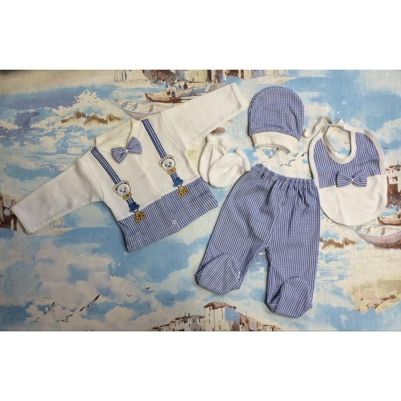 Костюм для мальчиков, цвет синий|1208689