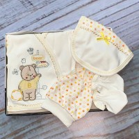 Комплект для новорожденных, цвет-желтый|1208691
