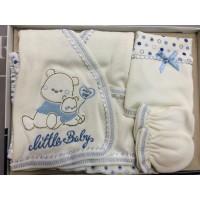 Комплект для новорожденных от 0 до 3 месяцев, цвет - голубой |1214668