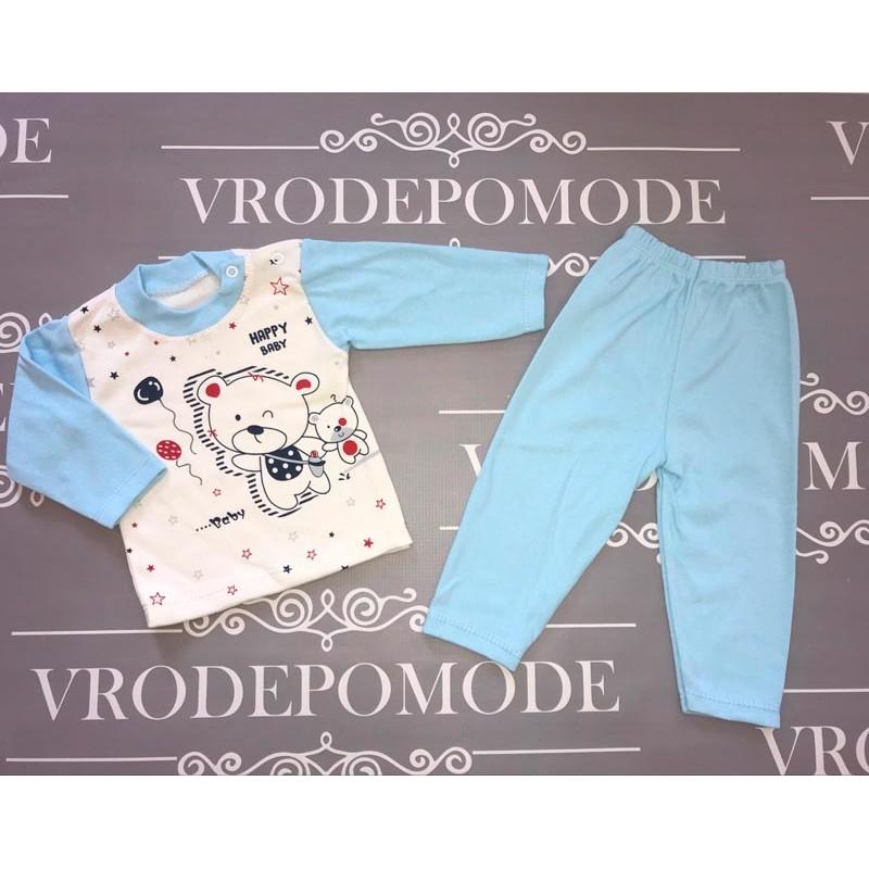 Костюм для новорожденных, цвет-голубой  1236129