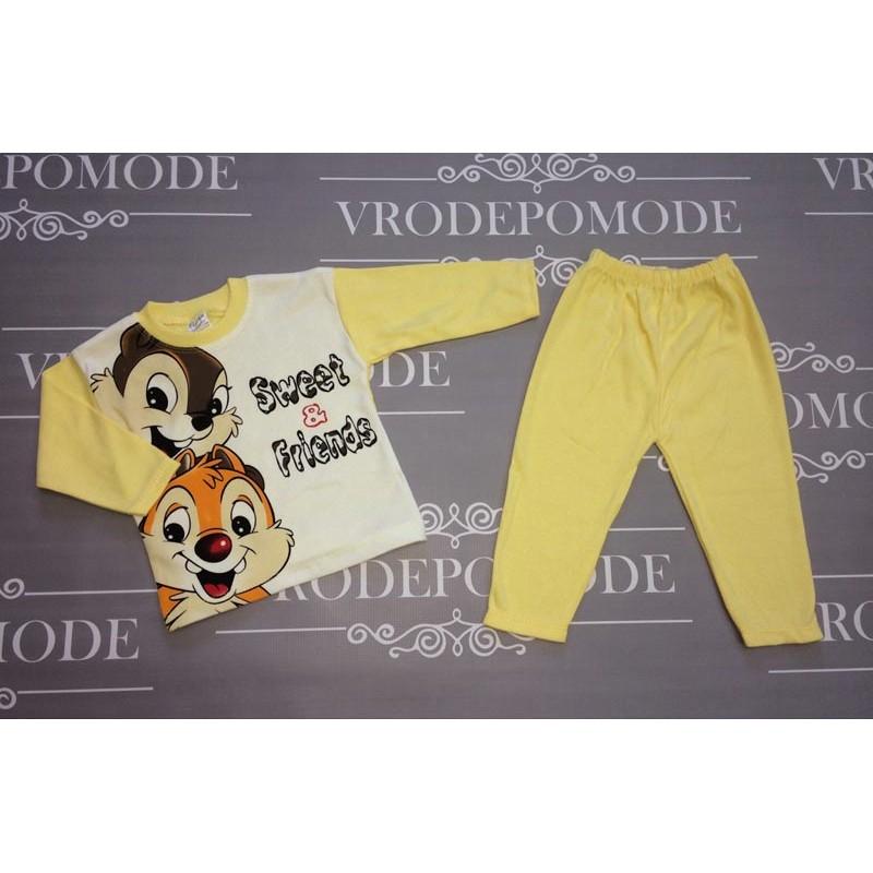 Костюм для новорожденных, цвет-желтый|1236767