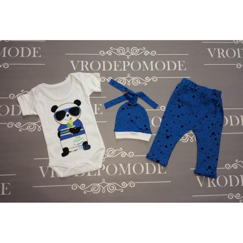 Костюм для новорожденных,цвет-синий|1242261