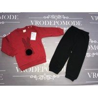 Детский костюм для девочек, цвет-красный|1255819