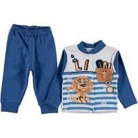 Детский костюм для мальчиков, цвет-синий|1258981