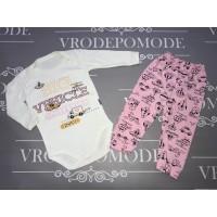 Детский костюм для девочек, цвет-розовый |1282055