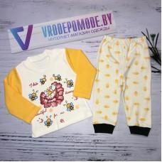 Детский костюм для девочек, цвет-желтый|1282354