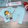 Детский костюм для мальчиков, цвет-голубой|1287481