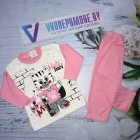 Детский костюм для девочек, цвет-розовый|1288306