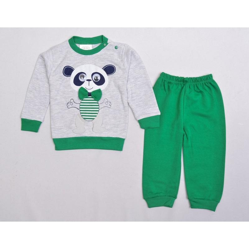 Детский костюм, цвет-зеленый 16300