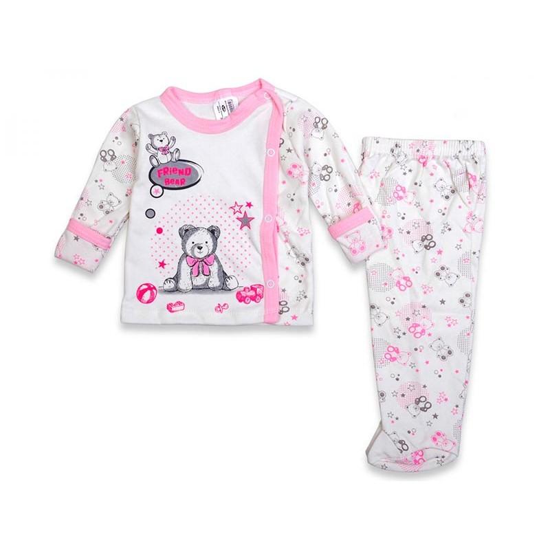 Детский костюм, цвет-розовый|18264