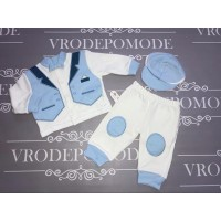 Костюм для мальчиков, цвет-голубой 53134