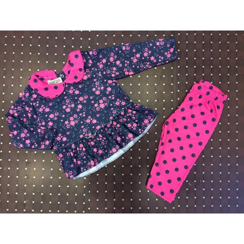 Костюм для девочек от 9 до 24 месяцев, цвет - розовый |712002