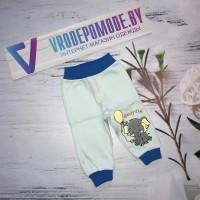 Детские штаны, цвет-голубой 1245278