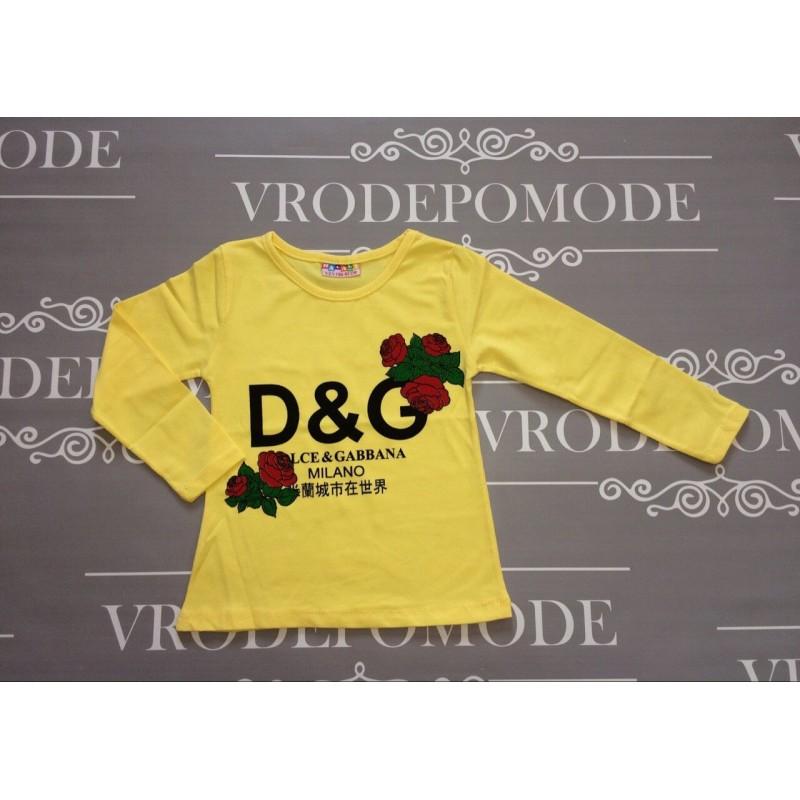Кофта для девочки, цвет-желтый |115837