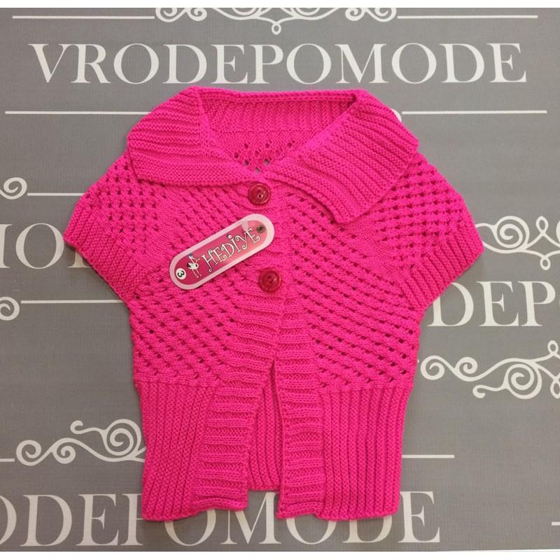 Жилетка для девочек, цвет розовый|1208176
