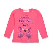 Детская кофта для девочек, цвет-розовый|13875