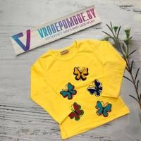 Кофта для девочек, цвет-желтый|5063