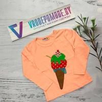 Кофта для девочек, цвет-персиковый|5064