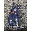 Комбинезон джинсовый Х09203-2