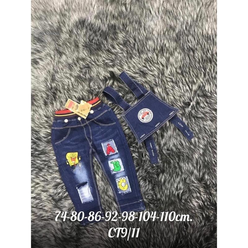 Комбинезон джинсовый Х09203-3