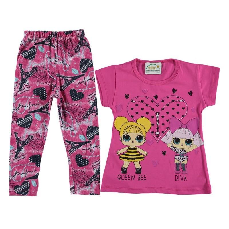 Костюм для девочек, цвет-малиновый |1261944