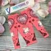 Леггинсы для девочек, цвет-розовый|1293045