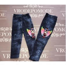 Леггинсы с  имитацией под джинс|1785