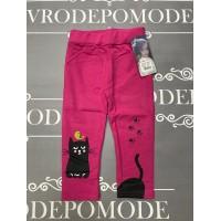 Леггинсы для девочек, цвет-розовый|97320